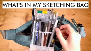 What's in my sketching bag