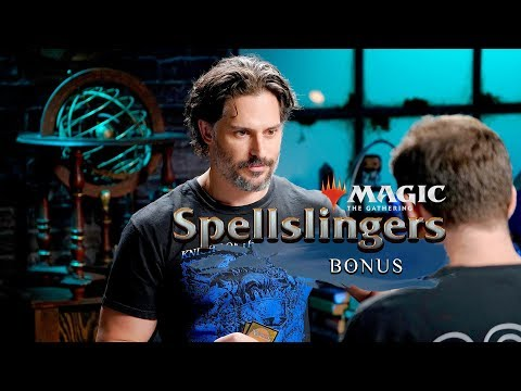 Gag Reel! Day9 vs Joe Manganiello  Magic: The Gathering: Spellslingers