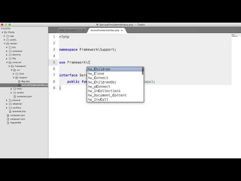 PHP Social Network: Service Providers (10)