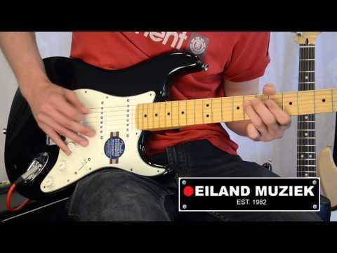 Fender American Standard Stratocaster Black Maple
