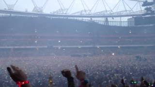 Coldplay - Intro + Mylo Xyloto + Hurts like Heaven - Live in London Emirates Stadium 1/6/12