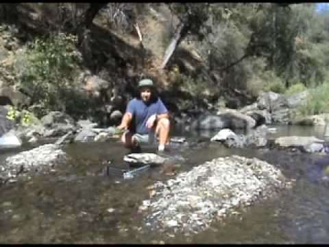 How to use a Sluice Box to find Big Gold Nuggets