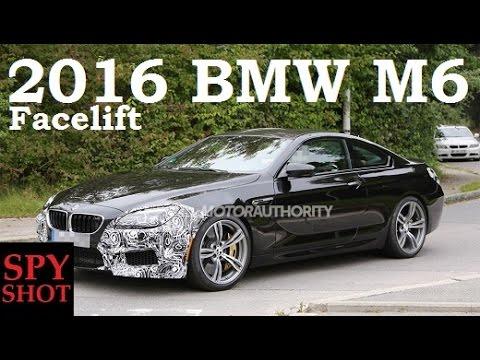 2016 BMW M6 Facelift Spy Shot !