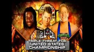 WWE Hell In a Cell 2009 Matchcard
