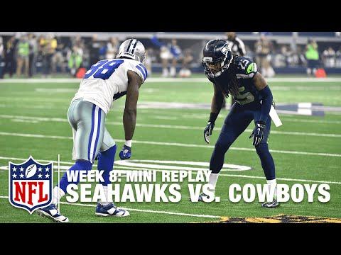 Seahawks vs. Cowboys (Week 8) | Richard...