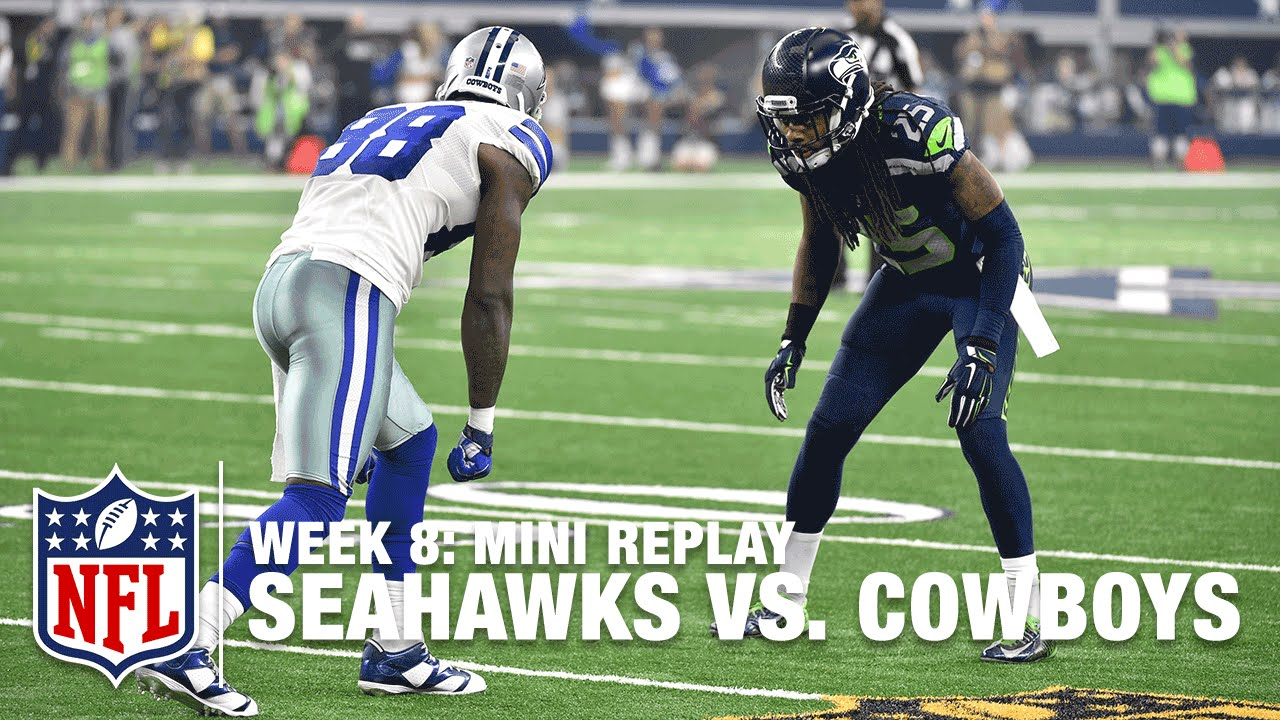Seahawks Vs Cowboys Week 8 Richard Sherman Vs Dez Bryant Mini Replay Nfl Films