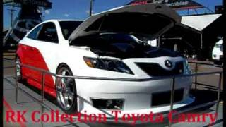 Toyota Camry Nascar Edition RK collection. 11-13-2010