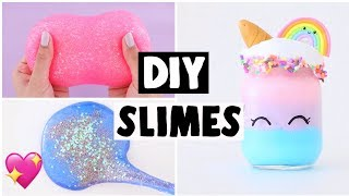 connectYoutube - MAKING 6 AMAZING DIY SLIMES - FAMOUS Slime Recipe COMPILATION!