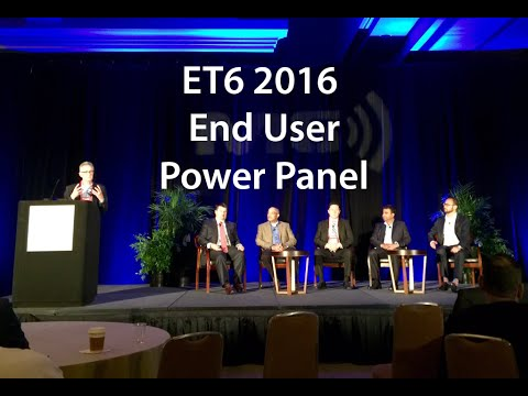2016 ET6 Exchange 2016 (Formerly M6) CIO Executive Council End-User Panel
