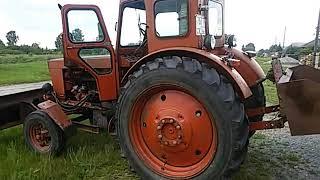 Трактор Т-40М_1991 г/в_наработка 693 м/ч