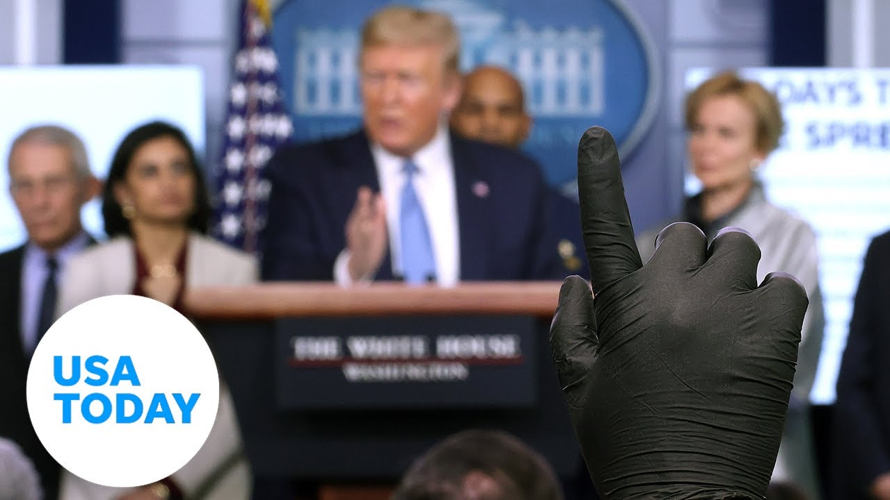 White House holds press conference as U.S. confirmed cases rise to 290,000 (LIVE) | USA TODAY