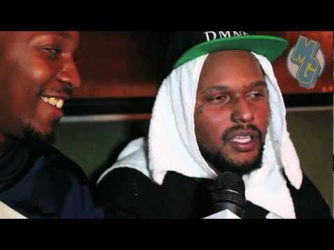 SchoolBoy Q Interview After Free Show In Atlanta, Takes Questions From Fans