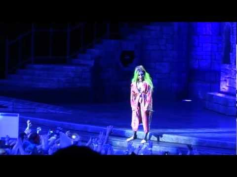 Lady Gaga Marry The Night Live Montreal 2013 HD 1080P