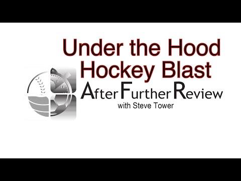 Under the Hood: Hockey Blast.  Sports Board Game Playthrough