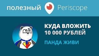 Куда вложить 10 тысяч рублей