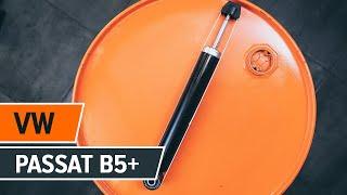Sådan udskifter du støddæmpere bagtil på VW PASSAT B5+ [Guide]