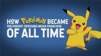 How Pokemon Became the Highest Grossing Media Franchise