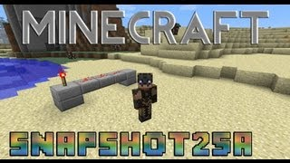 Minecraft Snapshot 12w25a (pre 1.3)