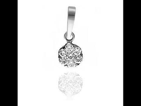 самые красивые подвески с бриллиантами