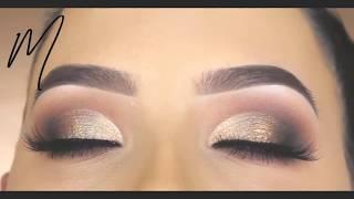 LATEST EYES MAKEUP TUTORIAL : (FULL MAKEUP) #16 | Tooth Gold & Black Complation | Eyes Makeup - 2018