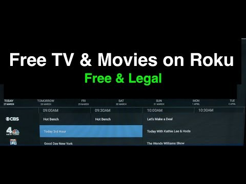 Watch Free TV And Movies On Roku