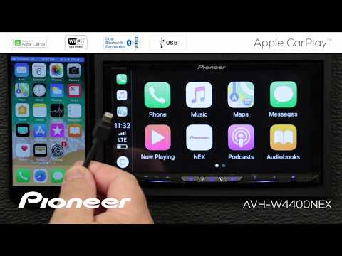How To - Set Up Apple CarPlay With Wireless Connection On Pioneer W-NEX Receivers 2018