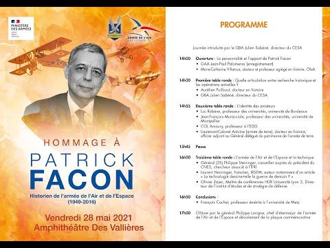 Journée d'étude et d'hommage à Patrick Facon