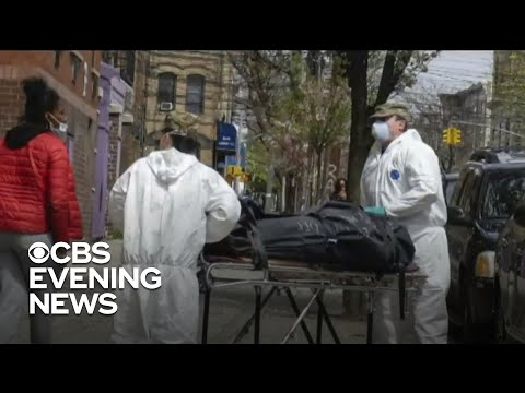 New York Sees Record Coronavirus Deaths Within 24 Hours As The Pandemic Leveling Off