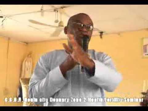 Catholic Charismatic Renewal Nigeria Benin City Deanery Zone 2 Health & Fertility Seminar Talk 2