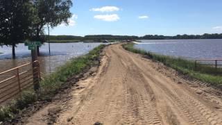 Big Sioux River Flood 6/19/14: Akron, Iowa