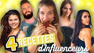 🤔 JE TESTE DES RECETTES D'INFLUENCEUSES FITNESS (Juju fitcats, Fitby Chloe, Amandine L, ...)
