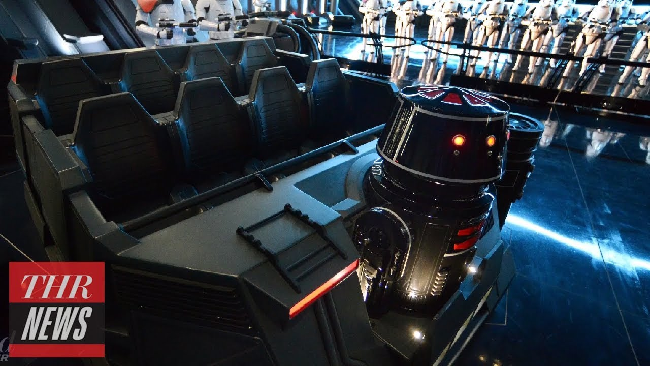 New 'Star Wars' Attraction Experiencing Technical Difficulties | THR News