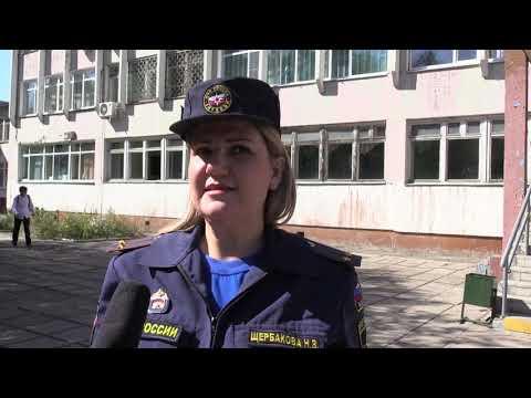 Тренировка по эвакуации при пожаре прошла  в школе № 68 города Хабаровска