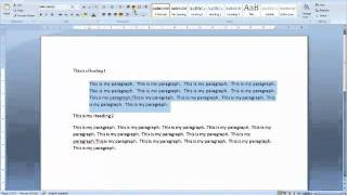 Wie erstellen Sie einen einfachen Bericht in Microsoft Office word von H und K