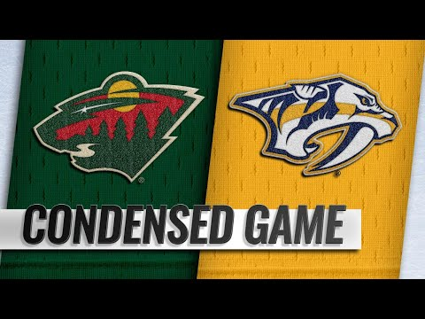 10/15/18 Condensed Game: Wild @ Predators