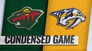 10/15/18 Condensed Game: Wild @ Predators