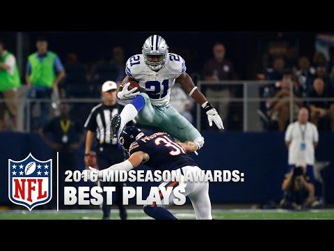 Top 10 Plays | 2016 Midseason Awards | NFL