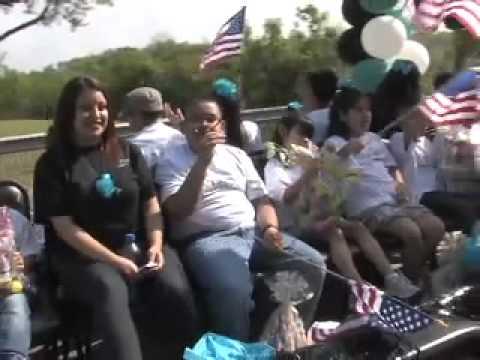 13th annual Cesar Chavez Parade Houston Texas