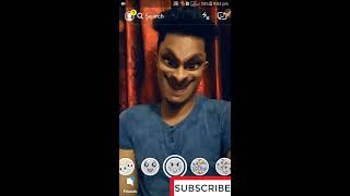 Use Snapchat Filters || Snapchat Fanny Video || Ghost Caught Snapchat