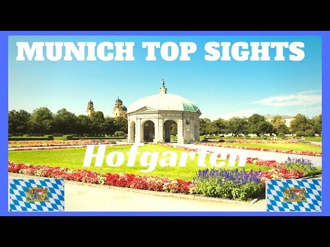 MUNICH Germany TOP SIGHTS # 2 Hofgarten