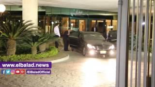 رئيس الاتحاد الأفريقى يغادر مصر متوجها إلى المغرب .. فيديو و صور