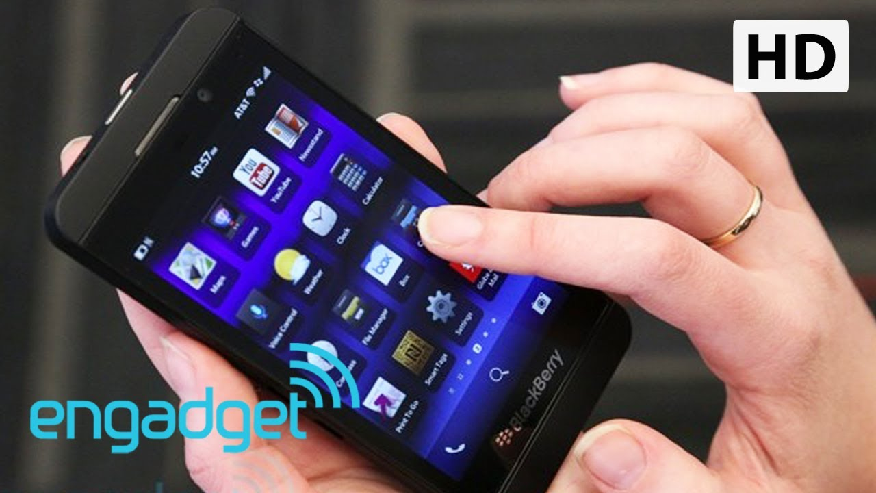 Blackberry z10 review engadget youtube ccuart Images