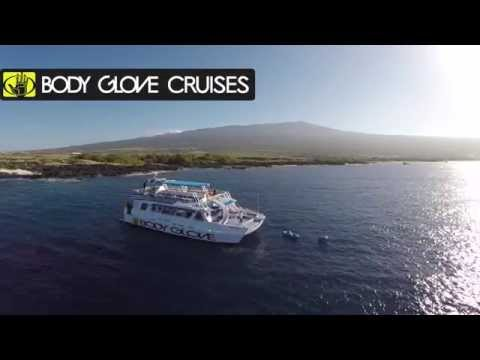 Body Glove Hawaii From The Sky || Big Island Snorkeling