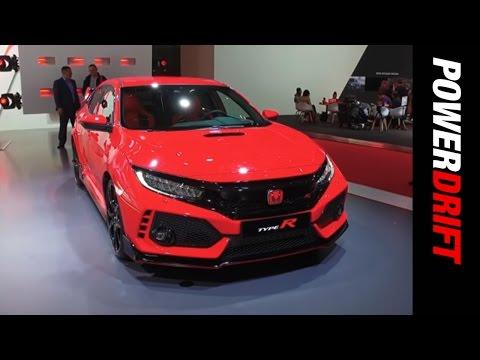 2017 Honda Civic Type R : Geneva Motor Show : PowerDrift