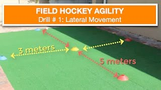 Field Hockey Agility Drill #1 [Lateral Movement]