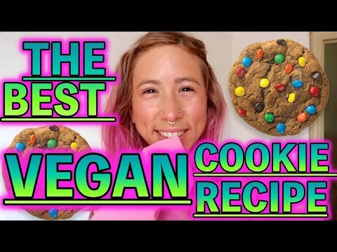 THE BEST HEALTHY VEGAN COOKIE RECIPE | THE POWER OF MACA