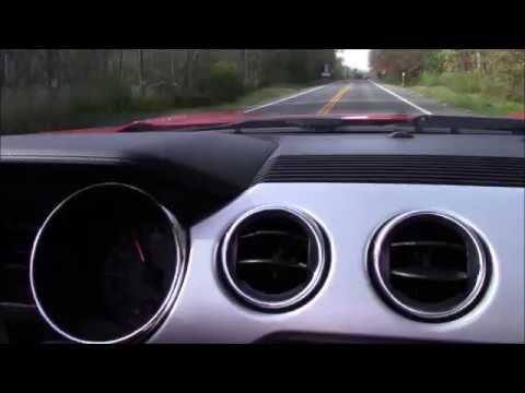 2017 ford mustang ecoboost convertible 0 60 youtube. Black Bedroom Furniture Sets. Home Design Ideas