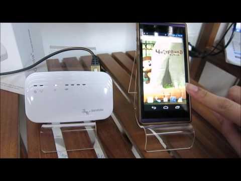 G-airdisk wired internet connection【WiFi Bridge/SD Card USB Reader/Powerbank】
