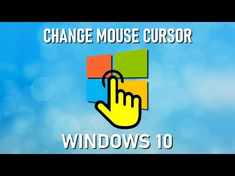 Windows 10: HOW TO CHANGE MOUSE POINTER COLOR & SIZE