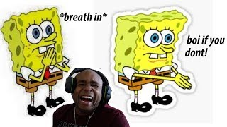Try Not To Laugh Challenge The Best Of Spongebob SquarePants Edition